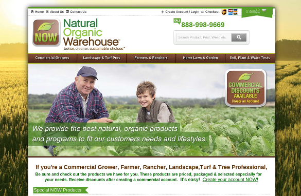 Natural Organic Warehouse
